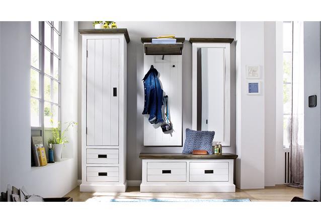 garderobenschrank links gomera garderobe schrank in akazie. Black Bedroom Furniture Sets. Home Design Ideas