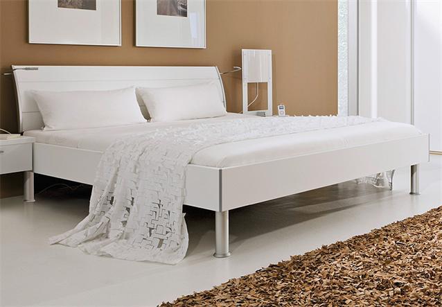 bett fargo von nolte doppelbett in wei dekor 180x200 cm. Black Bedroom Furniture Sets. Home Design Ideas