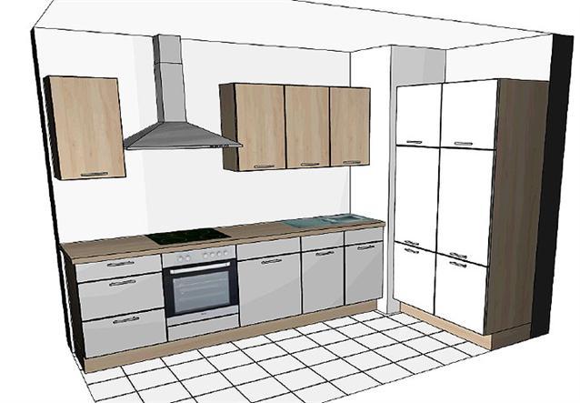 einbauk che nobilia l k che k che inklusive e ger te und geschirrsp ler neu ebay. Black Bedroom Furniture Sets. Home Design Ideas