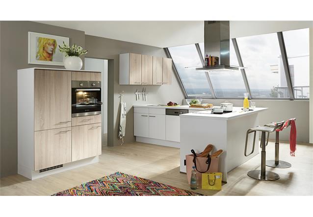 nobilia einbauk che l k che k che k cheninsel inkl e ger te auswahlfarben 699 ebay. Black Bedroom Furniture Sets. Home Design Ideas