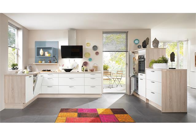 nobilia einbauk che l k che k che inkl e ger te mit auswahlfarben 361 ebay. Black Bedroom Furniture Sets. Home Design Ideas
