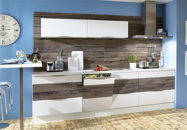 Nobilia Einbauküche Küchenzeile Küche inkl E Geräte mit