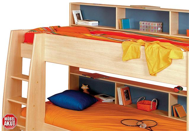 etagenbett tammy hochbett bett in buche hell neu ebay. Black Bedroom Furniture Sets. Home Design Ideas