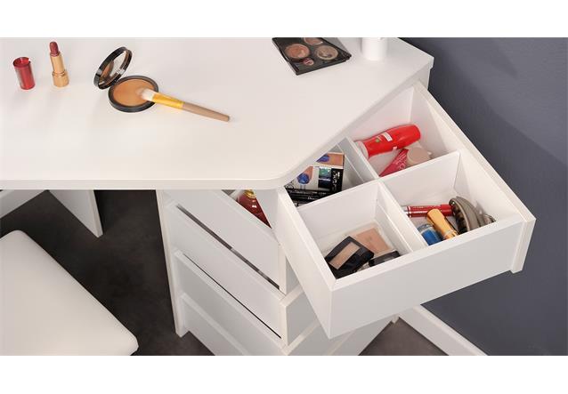eck schminktisch volage frisierkommode spiegeltisch tisch. Black Bedroom Furniture Sets. Home Design Ideas