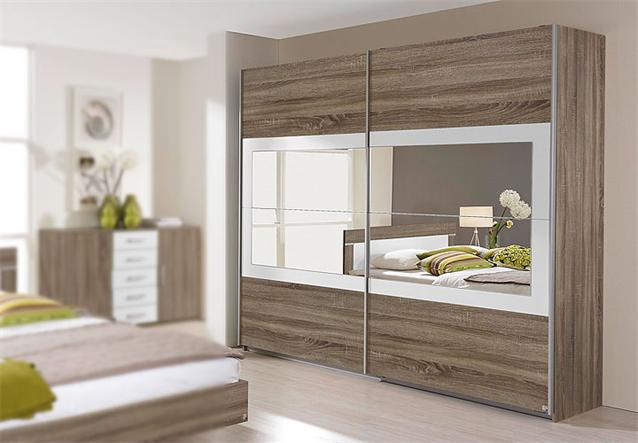 schwebet renschrank venlo schrank in havanna eiche wei. Black Bedroom Furniture Sets. Home Design Ideas