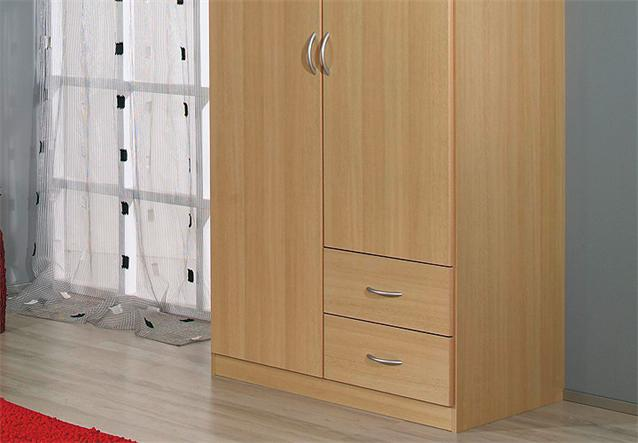kleiderschrank case schrank dreht renschrank in buche hell. Black Bedroom Furniture Sets. Home Design Ideas