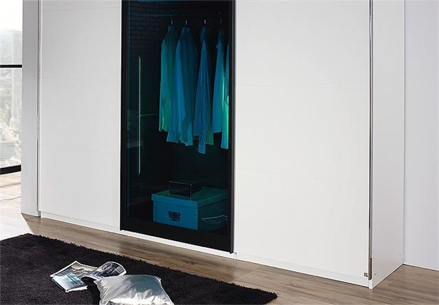 schwebet renschrank lahti kleiderschrank schrank wei petrol glas 226 ebay. Black Bedroom Furniture Sets. Home Design Ideas