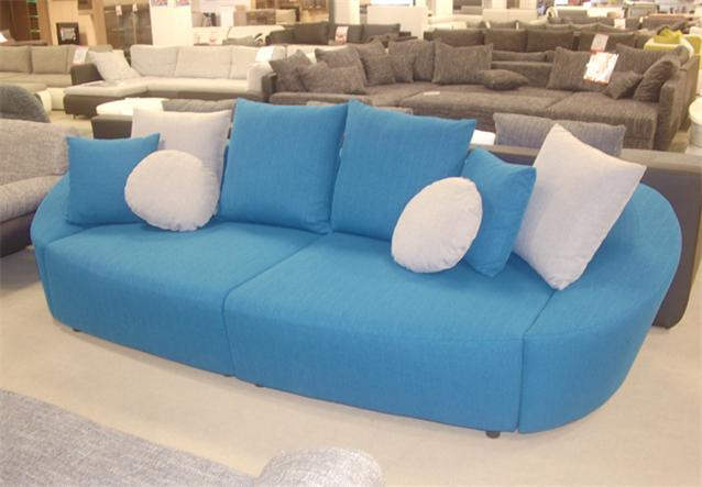 big sofa lounge sofa couch in t rkis mit schlaffunktion ebay. Black Bedroom Furniture Sets. Home Design Ideas