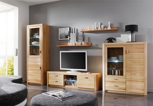 highboard passepartout 06a wohnzimmer schrank in kernbuche massiv. Black Bedroom Furniture Sets. Home Design Ideas