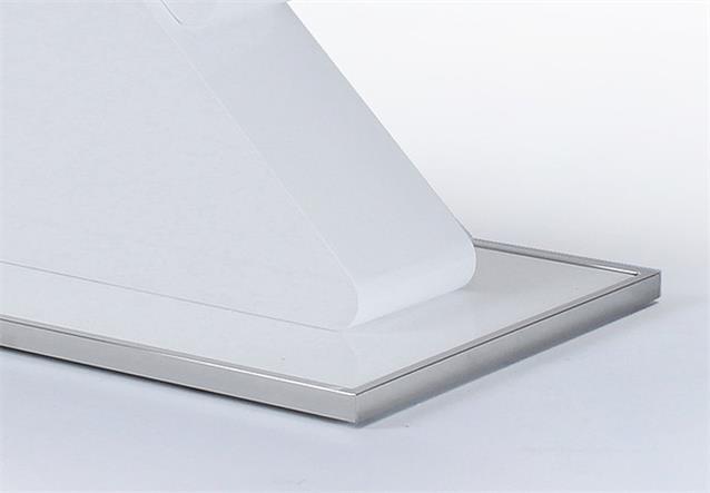 s ulentisch cube esstisch tisch in wei hochglanz lackiert 160 ebay. Black Bedroom Furniture Sets. Home Design Ideas