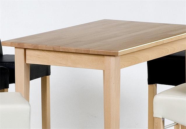 bartisch unos tisch bistrotisch buche massiv natur lackiert 110x70 cm ebay. Black Bedroom Furniture Sets. Home Design Ideas