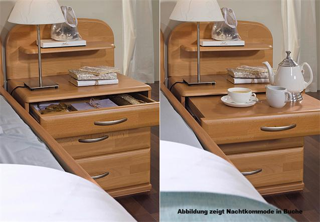 schlafzimmer set vanessa plus seniorenzimmer birke teilmassiv ebay. Black Bedroom Furniture Sets. Home Design Ideas