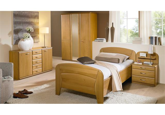 schlafzimmer set vanessa plus seniorenzimmer wildeiche teilmassiv ebay. Black Bedroom Furniture Sets. Home Design Ideas