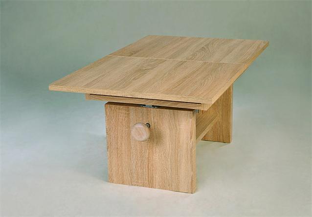 couchtisch event beistelltisch tisch in sonoma eiche s gerau h henverstellbar ebay. Black Bedroom Furniture Sets. Home Design Ideas