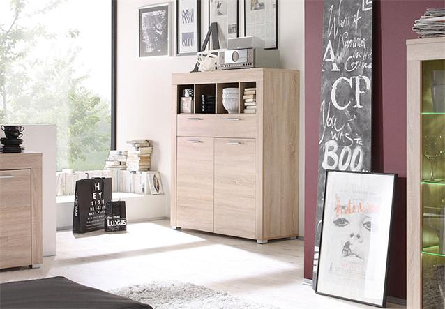 kommode boom schrank sideboard sonoma eiche s gerau hell bielefeld. Black Bedroom Furniture Sets. Home Design Ideas