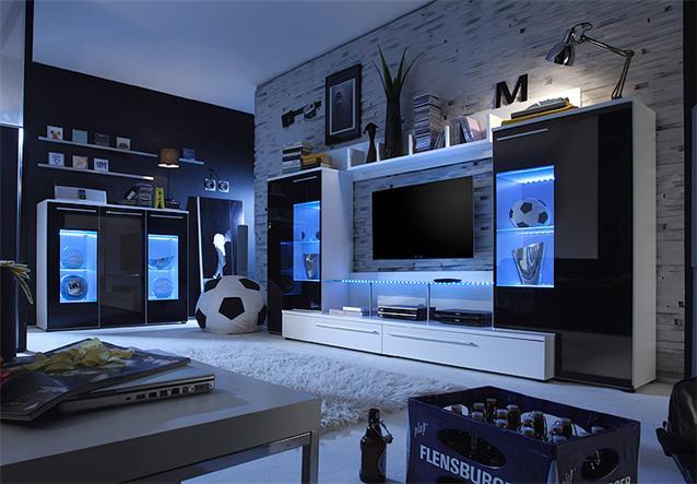 led hintergrundbeleuchtung schrank. Black Bedroom Furniture Sets. Home Design Ideas