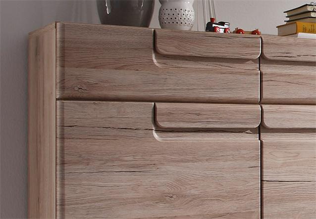 schuhkommode malea kommode schuhschrank in san remo eiche. Black Bedroom Furniture Sets. Home Design Ideas
