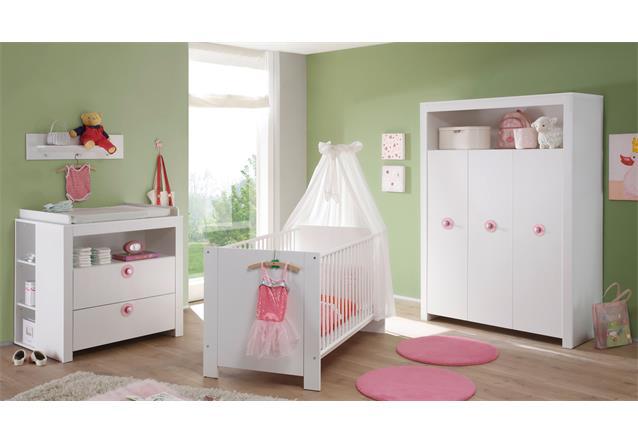 Babyzimmer olivia wickelkommode babybett kleiderschrank kinderzimmer gs gepr ft ebay - Kinderzimmer olivia ...