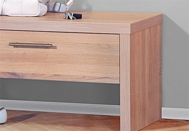 garderobenbank berlin schuhbank bank wildeiche massiv sonoma eiche s gerau neu ebay. Black Bedroom Furniture Sets. Home Design Ideas