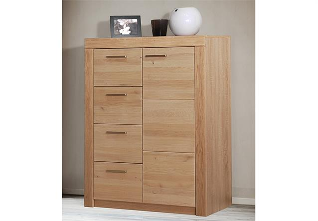 kommode 3 berlin sideboard anrichte in wild eiche massiv. Black Bedroom Furniture Sets. Home Design Ideas