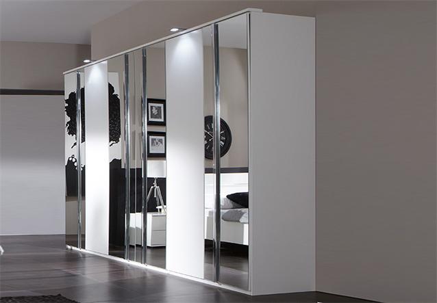 kleiderschrank davos 270 cm schlafzimmer dreht renschrank alpinwei mit spiegel ebay. Black Bedroom Furniture Sets. Home Design Ideas