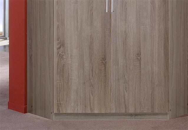 eckschrank click schrank kleiderschrank in montana eiche s gerau 120 cm ebay. Black Bedroom Furniture Sets. Home Design Ideas