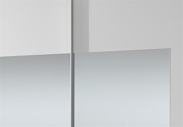 schwebet renschrank spirit kleiderschrank alpinwei spiegel b 180 cm ebay. Black Bedroom Furniture Sets. Home Design Ideas