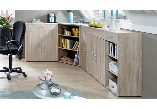 eckschrank multi room sideboard tv board regalsystem schranksystem eiche s gerau. Black Bedroom Furniture Sets. Home Design Ideas