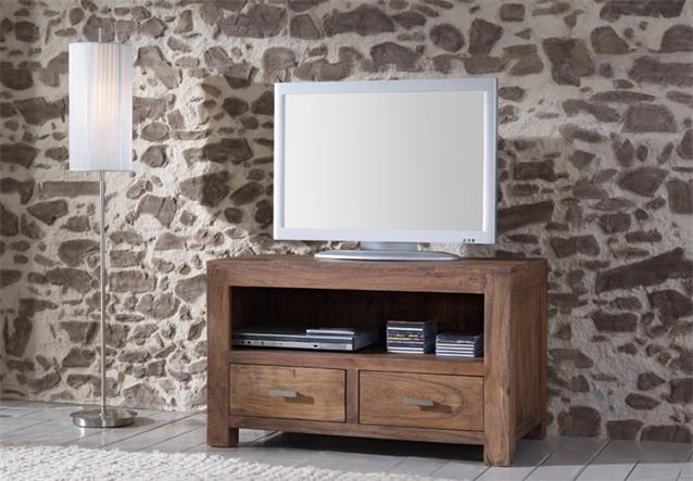 tv board longboard guru 6646 lowboard akazie massiv stone von wolf m bel. Black Bedroom Furniture Sets. Home Design Ideas