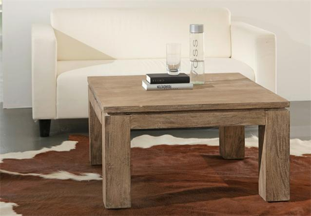 couchtisch 80x80 venice tisch akazie sand massiv von wolf m bel ebay. Black Bedroom Furniture Sets. Home Design Ideas