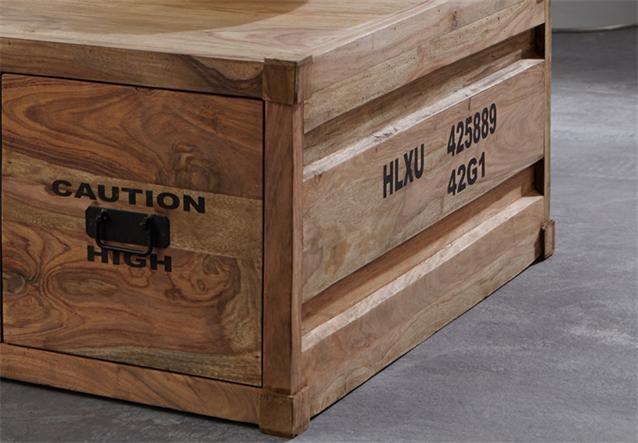 couchtisch 6907 container von wolf m bel in massivholz sheesham natur ebay. Black Bedroom Furniture Sets. Home Design Ideas
