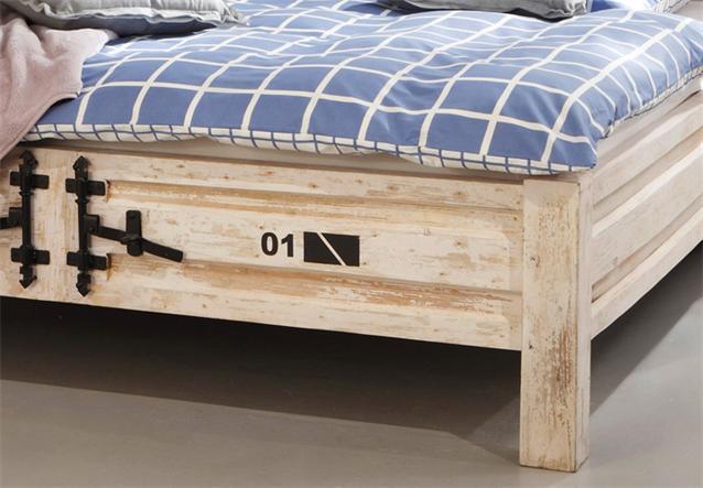 bett 6910 container von wolf m bel in massivholz akazie. Black Bedroom Furniture Sets. Home Design Ideas