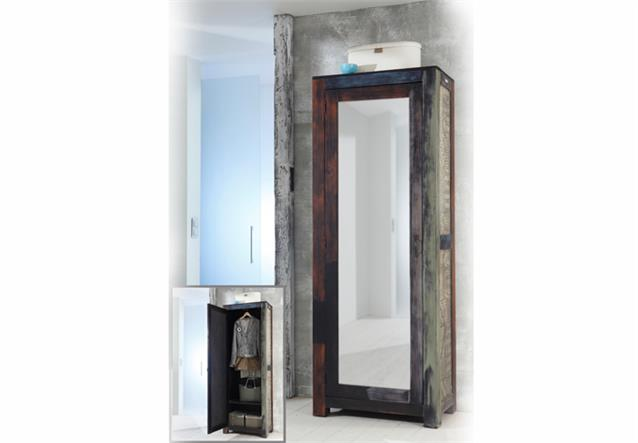 garderobenschrank goa von wolf m bel mit spiegel in. Black Bedroom Furniture Sets. Home Design Ideas