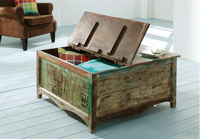 Truhe Couchtisch Himalaya 3704 old recycled wood
