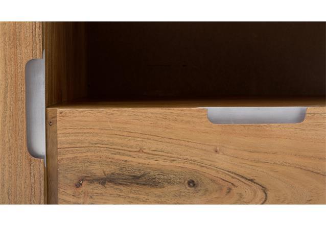 tv kommode vision 2823 in acana akazie massivholz tv board. Black Bedroom Furniture Sets. Home Design Ideas
