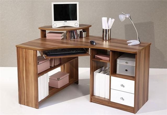 pc tisch lectra schreibtisch in baltimore wei neu ebay. Black Bedroom Furniture Sets. Home Design Ideas