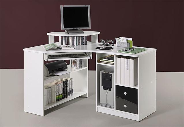 eckschreibtisch tanga in eiche sonoma computer pc schreibtisch b ro jugendzimmer ebay. Black Bedroom Furniture Sets. Home Design Ideas