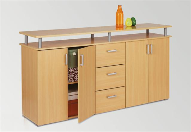 sideboard lios kommode anrichte in buche natur neu ebay. Black Bedroom Furniture Sets. Home Design Ideas