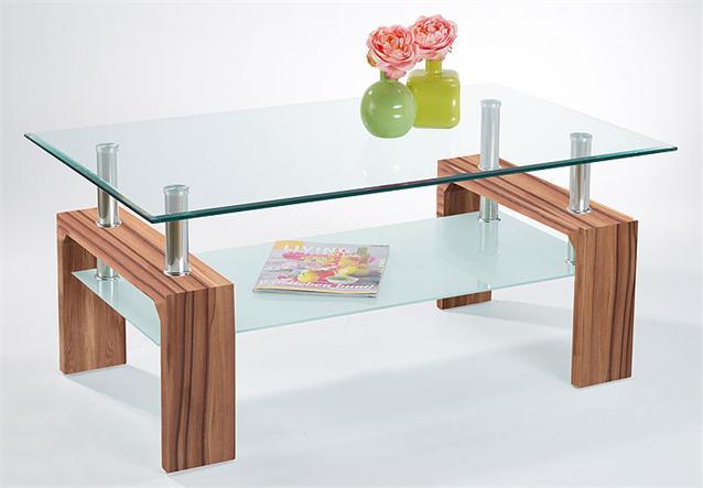 couchtisch danja tisch in wei chrom neu ebay. Black Bedroom Furniture Sets. Home Design Ideas