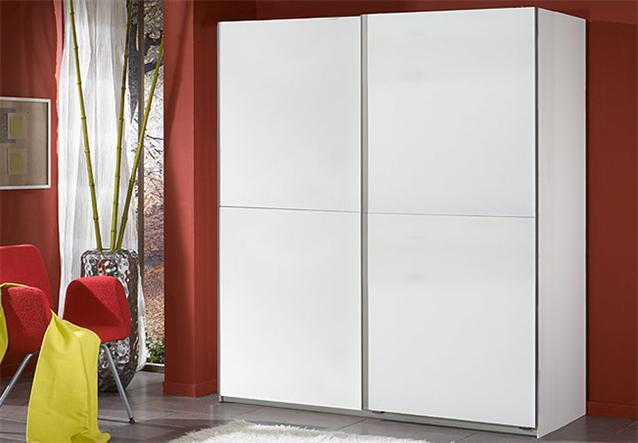 schwebet renschrank hot schrank kleiderschrank in wei breite 180 cm. Black Bedroom Furniture Sets. Home Design Ideas
