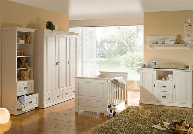 w scheschrank ronja schrank babyzimmer in kiefer wei massiv. Black Bedroom Furniture Sets. Home Design Ideas