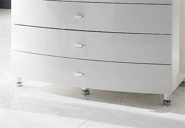 kommode cappo sideboard wei hochglanz lack neu ebay. Black Bedroom Furniture Sets. Home Design Ideas