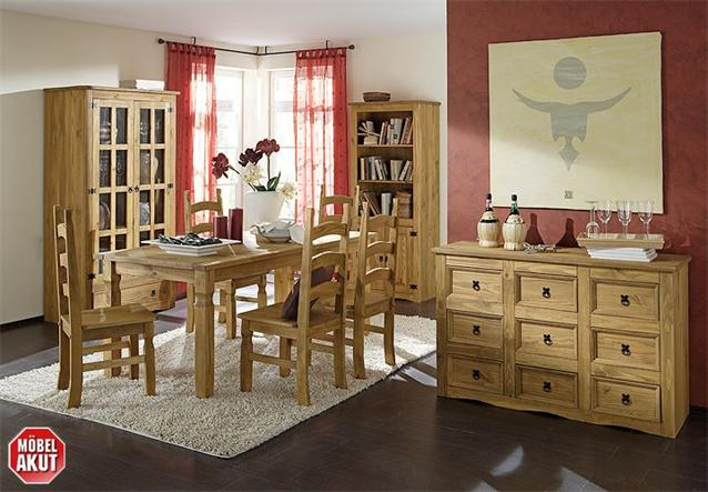 mexiko stuhl st hle pedro pinie massiv neu ovp ebay. Black Bedroom Furniture Sets. Home Design Ideas