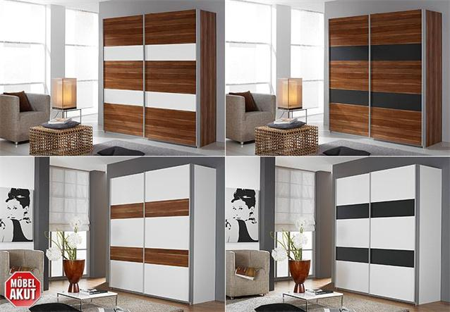 schwebet renschrank santo kleiderschrank in kernnussbaum b 181 cm ebay. Black Bedroom Furniture Sets. Home Design Ideas