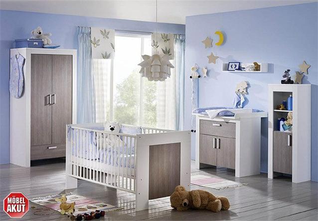 6 tlg babyzimmer michi in wei pinie rustika neu ebay - Babyzimmer michi ...