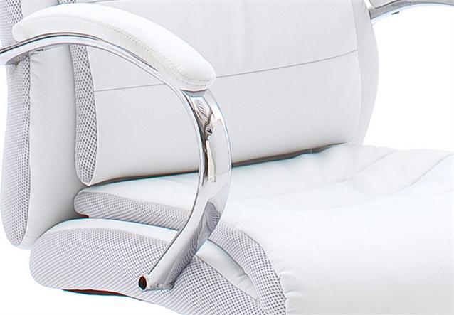 drehstuhl schreibtischstuhl b rostuhl exclusiv weiss ebay. Black Bedroom Furniture Sets. Home Design Ideas