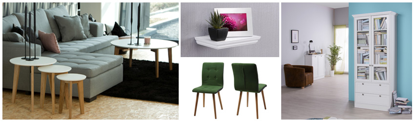 m bel mit skandinavischen flair preiswert online kaufen. Black Bedroom Furniture Sets. Home Design Ideas