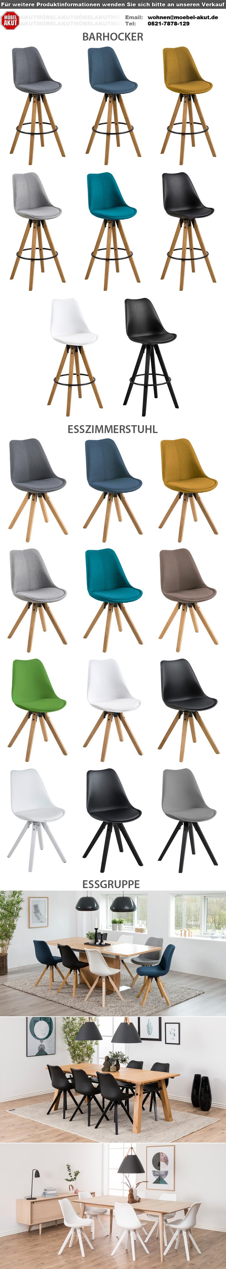 stuhl dima 2er set esszimmerstuhl barhocker bezug schwarz wei grau farbauswahl ebay. Black Bedroom Furniture Sets. Home Design Ideas
