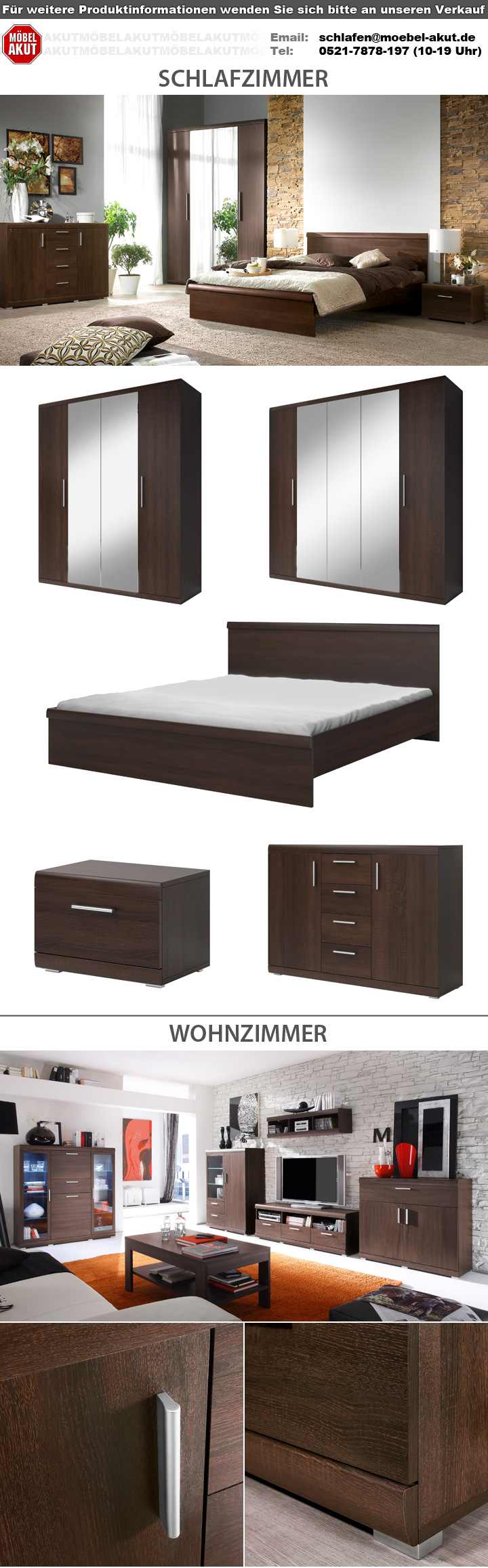 wandregal mestre wandboard regal in sonoma eiche dunkel. Black Bedroom Furniture Sets. Home Design Ideas