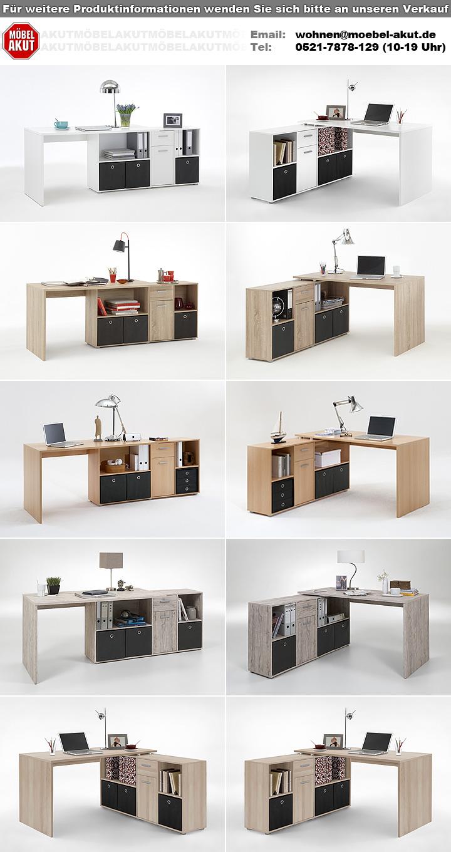 schreibtisch lex tisch b rotisch in sonoma eiche s gerau. Black Bedroom Furniture Sets. Home Design Ideas
